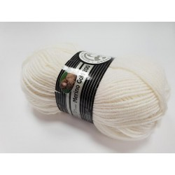 100 - balta Madame Tricote Paris Merino Gold 200