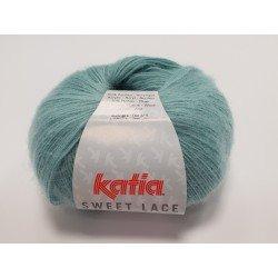 14 - pastelinė žalia Katia Sweet Lace