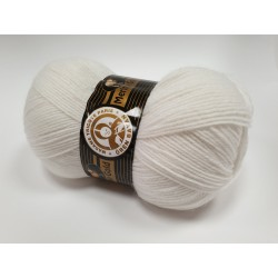 000 - balta Merino Gold Madame Tricote Paris