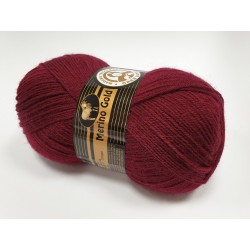035 - bordo Merino Gold Madame Tricote Paris