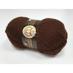 083 - tamsi ruda Merino Gold Madame Tricote Paris