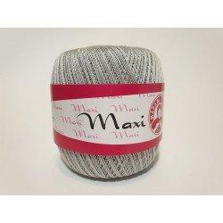 4920 - šviesi pilka Madame Tricote Paris Maxi