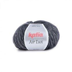 61 - juoda sidabrinė Katia Air Lux
