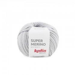 9 - perlo pilka Katia Super Merino