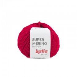 4 - raudona Katia Super Merino