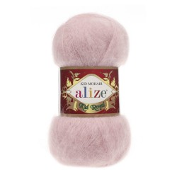 161 - pudra Alize Kid Mohair