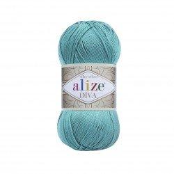 376 - žalsvai mėlyna Alize Diva