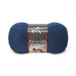 06955 - tamsi mėlyna Nako Estiva